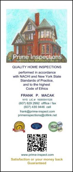 Home Inspections - Brochure 2012